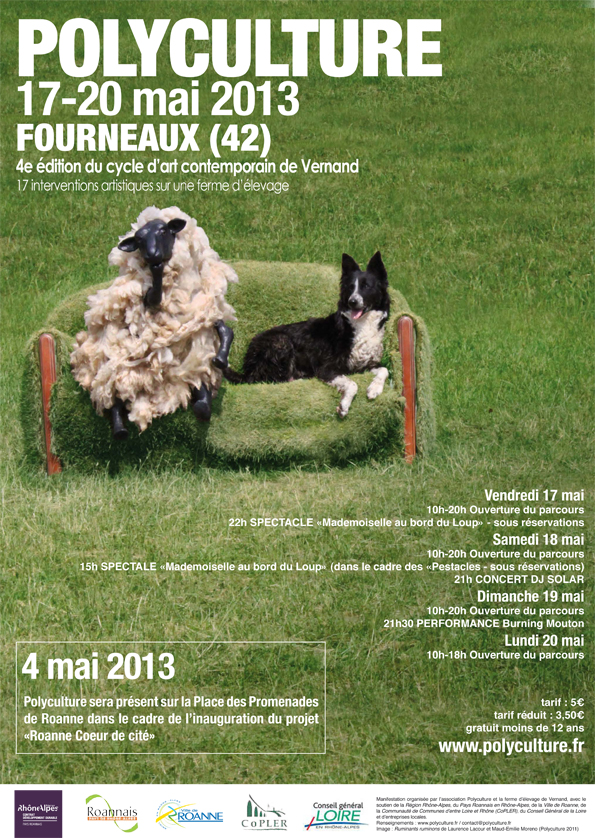 Affiche Polyculture 2013